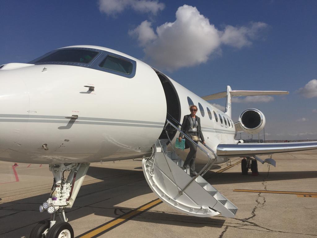 Consuelo Arto inspectora aviación ejecutiva