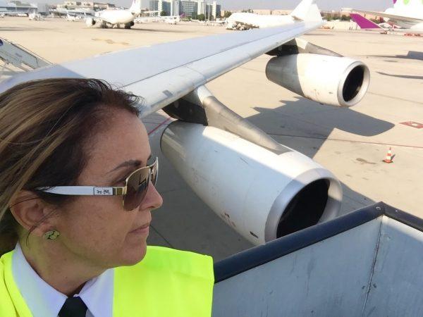 Consuelo Arto aviación comercial